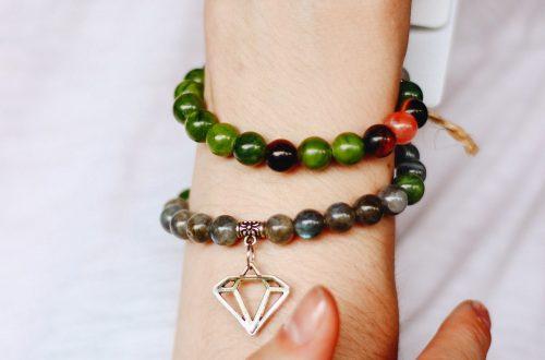 Bracelet chakra en pierres naturelles